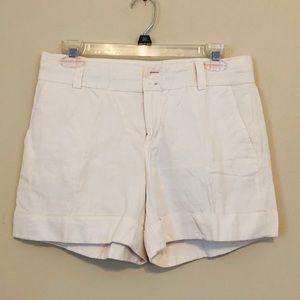 Banana Republic White Size 6 Modern Fit Shorts H1